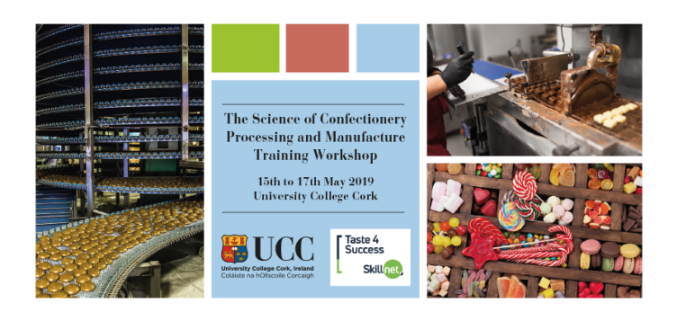 Confectionery course at UCC