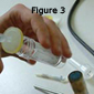 The phage suspension is then filter-sterilised through a 0.45 mµ syringe-mounted, filtration  unit- figure 3-to remove any bacteria including phage-resistant host bacteria